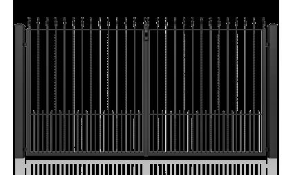 Big gate (auto) – model 02