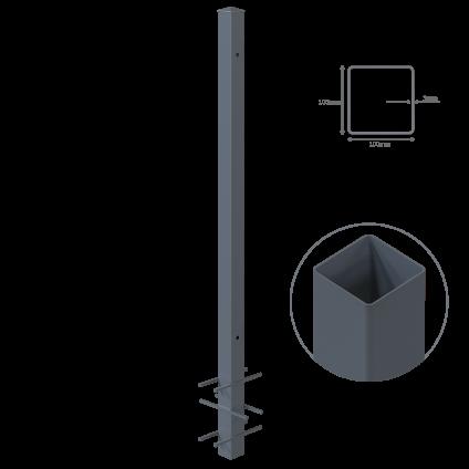 Stalp metalic, H 240 cm,...