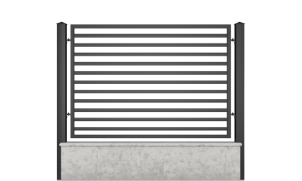 Small fence (H 110) – model 11