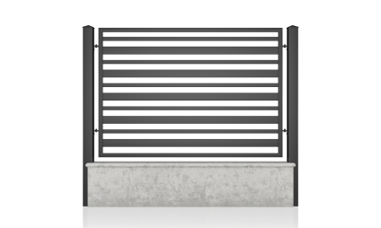Small fence (H 110) – model 12