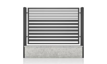 Small fence (H 110) – model 13