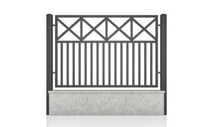 Small fence (H 110) – model 19