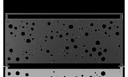 Railing plasma - model 43