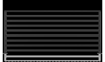 Balustrada metalica - model 11