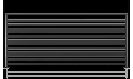 Balustrada metalica - model 12