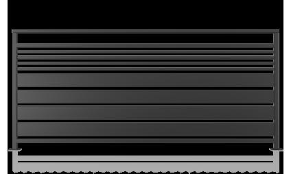 Modern railing - model 13
