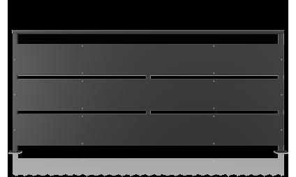 Balustrada metalica tabla...